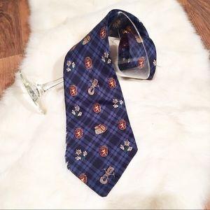 Tommy Hilfiger•• Crest Silk Tie